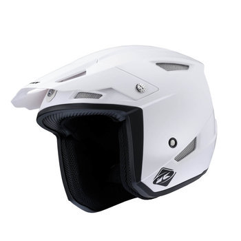 Kenny TRIAL HELM UP WHITE